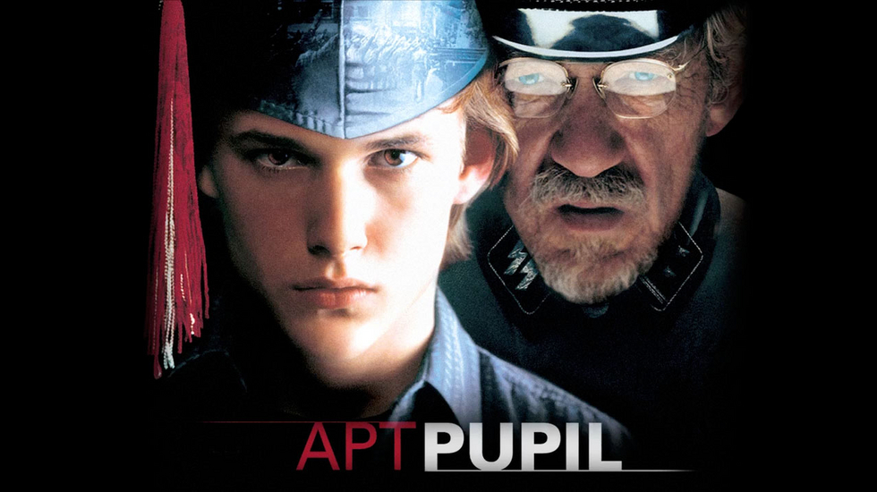 the apt pupil Apt pupil is a film about todd bowden, a teen-age boy, who becomes obsessed with a local man who he believes is a nazi war criminal, wanted by the israeli government.
